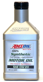 Synthetic 0w 20 motor oil for maximum fuel efficiency for Amsoil 100 synthetic motor oil