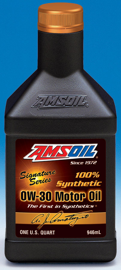 AMSOIL 0W 30 synthetic motor oil