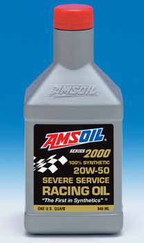 Amsoil Synthetic 20w 50 Racing Motor Oil